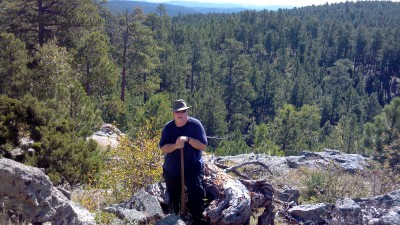 Yours truly in the Black Hills.