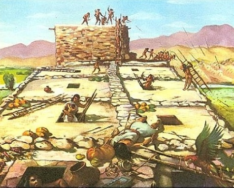 Defense of a pueblo.
