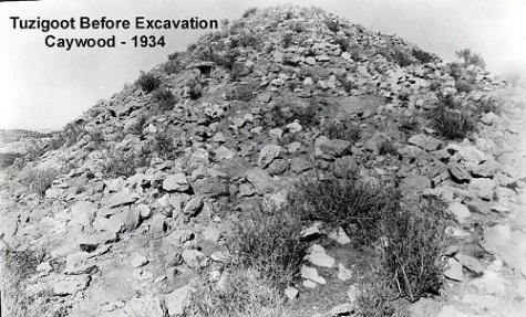 Tuzigoot in 1934.