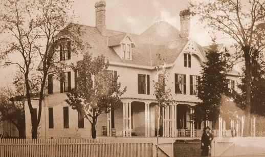 James Garfield at home