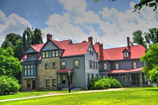 Home of President Garfield.